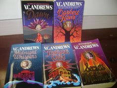 The Casteel Family V C Andrews complete set of 5 Softcover ★