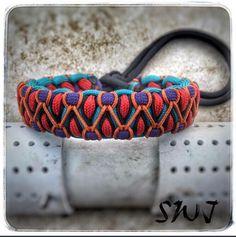 Southwestern style Solomon's dragon. Double stitched.