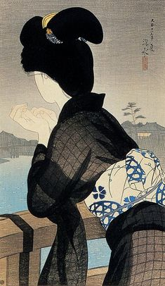 evening cool / ito shinsui / 1922