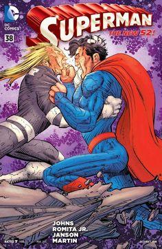 Superman #38, By Geoff Johns, John Romita Jr., Klaus Janson, Laura Martin, Ulises Arreola, Dan Brown, & Will Quintana  The penultimate issue in Goeff Johns an...,  #DanBrown #DCComics #erikgonzalez #GeoffJohns #JohnRomitaJr. #KlausJanson #LauraMartin #Superman #ulisesarreola #WillQuintana