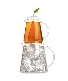 Glass Tea Set #summerdrinks dotandbo.com