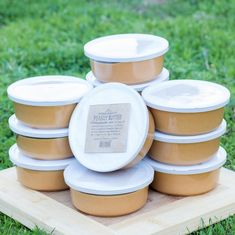 Can't get enough of our coconut peanut butter? Aloha Spreads now has coconut peanut butter tubs available for everyone at a special wholesale price. Coconut Peanut Butter, Almond Butter, Smoothies, Treats, Snacks, Pure Products, Canning, Tubs, Healthy
