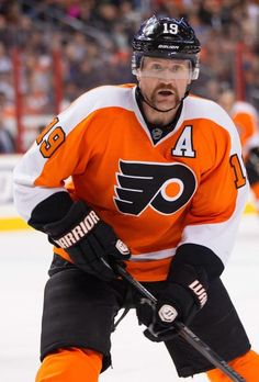 Philadelphia Flyers' Scott Hartnell