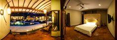 Luxury poolside rooms