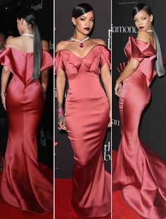 Rihanna Stuns In Zac Posen Gown For Diamond Ball: Get A 360 Degree Look