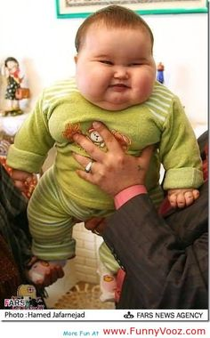 nice smiling face for picture - funny pictures of fat babies