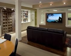 Basement Basement Renovations Design, Pictures, Remodel, Decor and Ideas - page 9