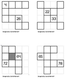 Here Are 20 Different Puzzles To Use To Work With The Hundreds Chart. Copy  Onto