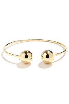 Wanna Be a Baller Gold Bracelet at Lulus.com!