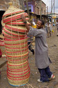 Africa | The Merkato, Africa's largest open-air market. Addis Ababa, Ethiopia | ©Sergio Pessolano