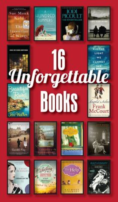 Books to add to your must-read list. I've read several of these and have to agree that they are absolutely unforgettable! Angela's Ashes is by-far my favorite and is autobiographical.