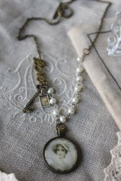 A Timeless Love Necklace by HaveFaithDesigns on Etsy