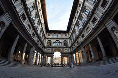Uffizi Gallery ~ Florence, Italy. February 2012. Travel photography copyrighted by Amanda Ruggeri.