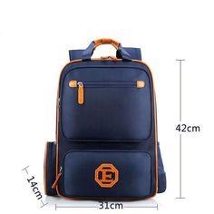 522739d888d3 2018 New Boy Backpack Waterproof School Bag Kid Bag Pack Children Backpacks  High Quality Fashion