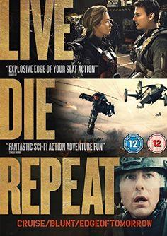 Live Die Repeat: Edge of Tomorrow [DVD] [2014]: Amazon.co.uk: Tom Cruise, Emily Blunt, Bill Paxton, Brendan Gleeson, Noah Taylor, Doug Liman: DVD & Blu-ray