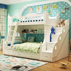 Set Quarto Mobili Field Letto A Castello Totoro Tempat Tidur Tingkat Cama De Dormitorio Mueble bed room Furnishings Double Bunk Mattress Bed For Girls Room, Girls Bunk Beds, Cool Bunk Beds, Bunk Beds With Stairs, Kid Beds, Loft Beds, Trundle Beds, Kids Double Bed, Double Bunk Beds