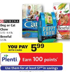 Hot! FREE Purina Beneful Dry Dog Food At Rite Aid After Sale, Plenti Points, and NO Size Restrictions Printable Coupon!