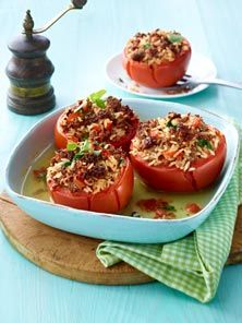 Gefüllte Tomaten nach Hausfrauen-Art