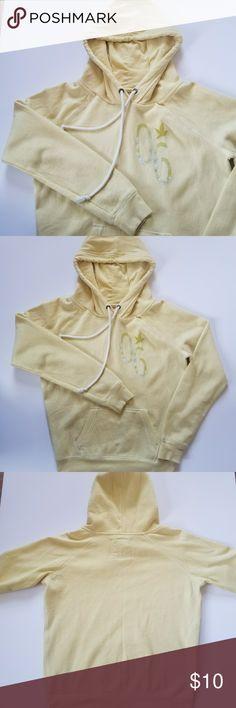 AERIE Hoodie Sweater SO, SO SOFT & COMFY AERIE Yellow Hooded sweater (size: medium) in GREAT condition . It is great For cold days Nd just lounging around because it is so soft and comfy !!!  If you have any other questions I always try to respond right away  Always ships same or next day !!! aerie Sweaters