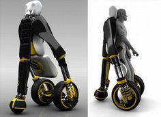 Stand Up Wheelchair - this model looks amazing