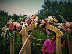 arch for wedding flowers