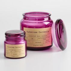 Tuberose Gardenia Apothecary Jar Candle
