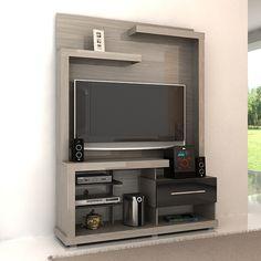 Centro Tv, Backdrop Tv, Rak Tv, Tv Wall Cabinets, Modern Tv Wall Units, Living Room Entertainment Center, Tv Panel, Tv Unit Design, Tv Units