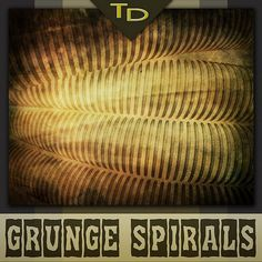 Grunge Spiral Backgrounds