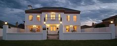 Ashbourne Manor, luxury bed and breakfast accommodation on the Summerstrand beachfront in Port Elizabeth. Port Elizabeth, Bed And Breakfast, Luxury Bedding, South Africa, Mansions, House Styles, Home Decor, Decoration Home, Manor Houses