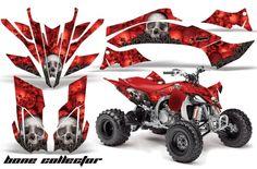 Yamaha Quad Graphic sticker decal Kit for 2009,2010,2011,2012,2013 YFZ450 ATV