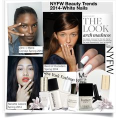 NYFW Beauty Trends 2014-White Nails