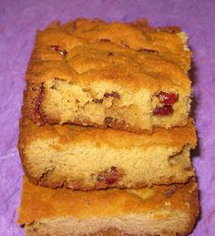 Cranberry Orange Bars (Grain Free, Dairy Free & Paleo) Whether you are looking for a morning breakfast bar for on-the-go or a tasty dessert, I've got you covered!