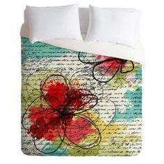 Monika Strigel Happy Go Lucky Duvet Cover   DENY Designs Home Accessories