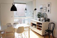 Kitchen / Eames DSR / Jielde