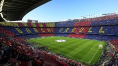 "Best soccer Tifos from around the world:     Barcelona:   Thousands of Barcelona fans hold up cards to spell out ""Barca! Orgull,"" which translates to ""Barcelona pride"" ahead of a Champions League clash with Bayern Munich at Camp Nou."