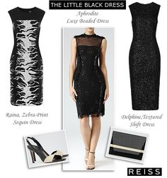reiss-black-evening-dresses-LBD