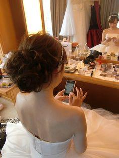 親友「のの」の帝国ホテル 挙式ヘアメイク アントニオリーヴァ×ジェニーパッカム |City Wedding 大阪 梅田、京都、神戸 ブライダルヘアメイク出張 ☆ヘアメイクアーティストモリの美女採集