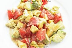 **Easy Healthy Recipe: Avocado Grapegruit Apple Salad** | Weight Loss Meals and Recipes - Clean Eating Recipes