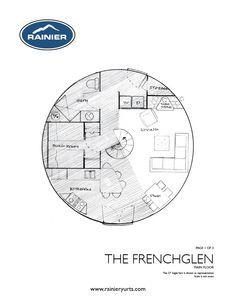 yurt floor plans - rainier yurts | yurt plans | pinterest | yurts