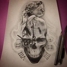 @proulxjustice #yourstory #bodyart #tattoo Черепа | 147 фотографий