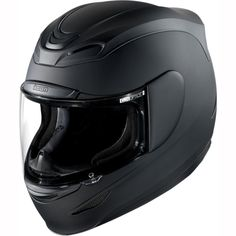 Icon Airmada Rubatone Helmet - Matt Black ★★ FREE UK Delivery | FREE UK Returns
