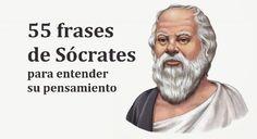 Estas 55 frases de Sócrates te permitirán conocer valiosas reflexiones sobre su pensamiento filosófico y, por extensión, el de los grandes pensadores griegos.