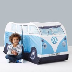 child's campervan tent by thelittleboysroom   notonthehighstreet.com