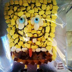 Spongebob Squarepants sweets cake #sweetcheeksuk.com