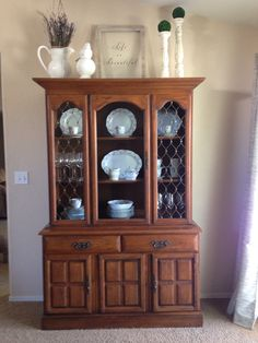 china hutch decor on pinterest hutch decorating  china china cabinet hutch buffet Steel Gray Buffet Hutch Cabinet
