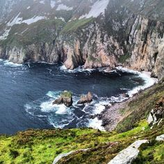 Slieve League Cliffs. Donegal. Ireland.