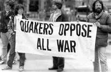 Quakers oppose all war.
