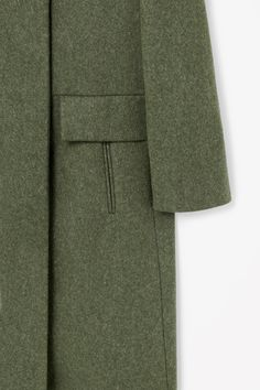 COS | Wide collar wool coat