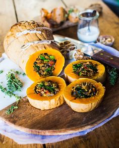 Super super excited to see my baked squash with nutty mushroom stuffing on the cover of the latest Best Vegan Recipes, Healthy Soup Recipes, Clean Recipes, Veggie Recipes, Whole Food Recipes, Vegetarian Recipes, Cooking Recipes, Favorite Recipes, Healthy Foods