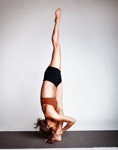 Standing split, beautiful.